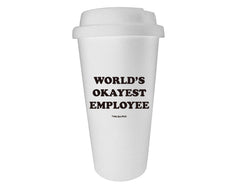 World's Okayest Employee Tumbler