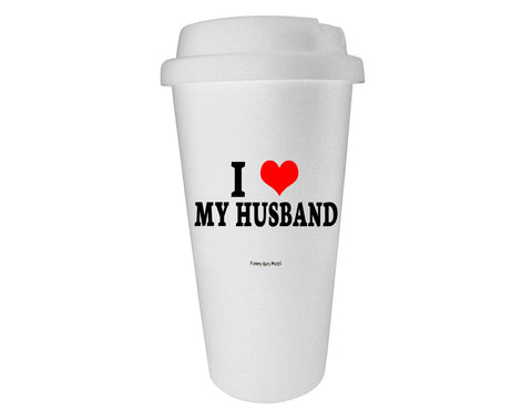 I Heart My Husband Tumbler