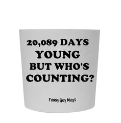 55th Birthday - 20,089 Days Young Tumbler