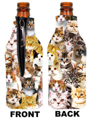 Kittens Neoprene Bottle Coolie