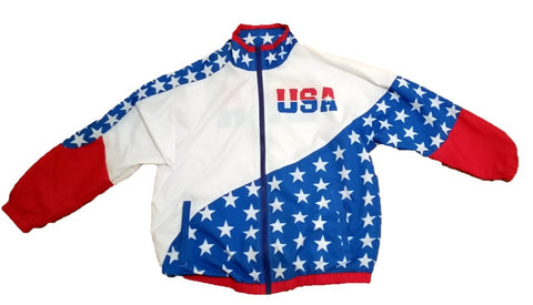 USA 80s & 90s Retro Windbreaker