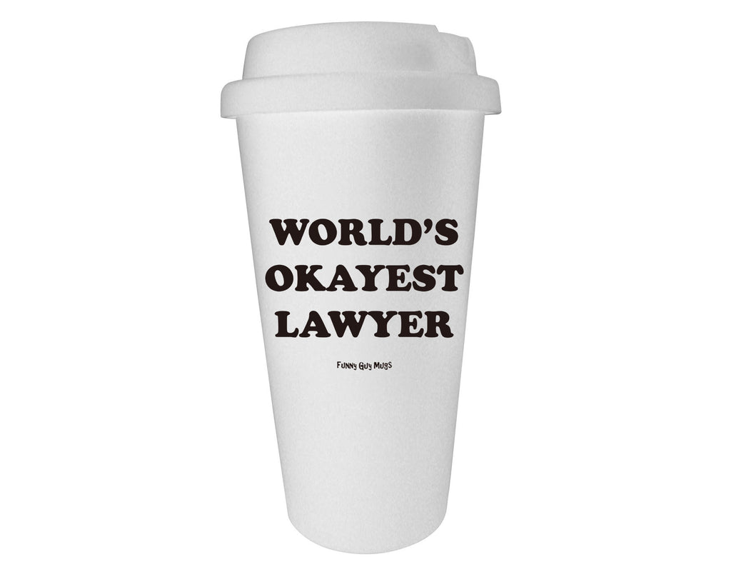 World's Okayest Lawyer Tumbler