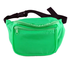 Plain Neon Green Fanny Pack