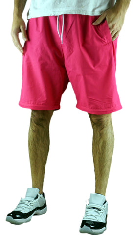 Awesome Neon Pink Windbreaker Pants