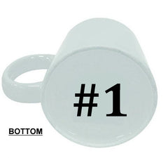 Best Lesbian Ever - #1 On Bottom Mug