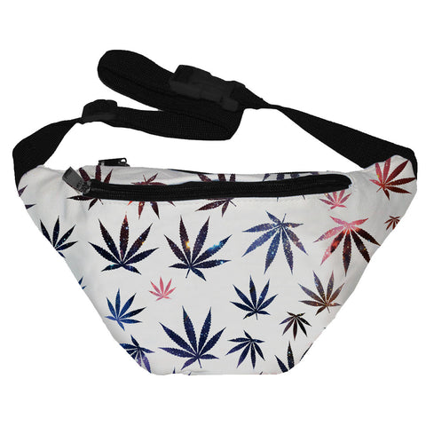 Galaxy Weed Fanny Pack