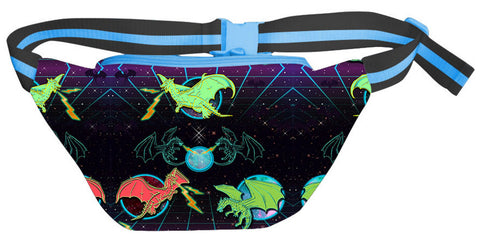 Space Dragon Fanny Pack