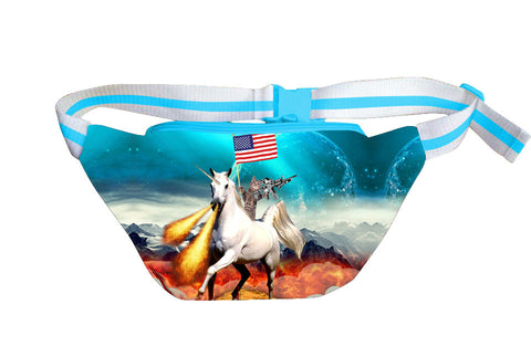 Cat and Unicorn Fanny Pack