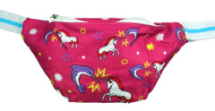 Unicorn vs Narwhal Fanny Pack