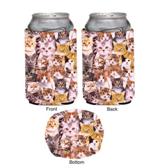 Kittens Neoprene Can Coolie