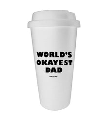 World's Okayest Dad Tumbler