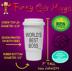 World's Best Boss Tumbler