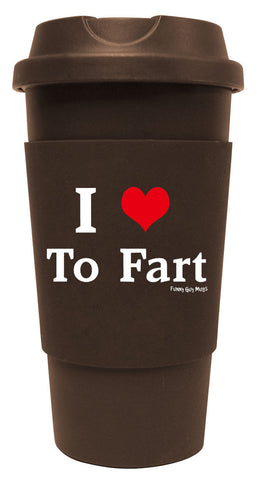 I Love To Fart Tumbler