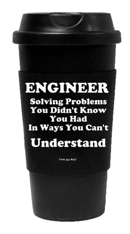 Engineer Solving Problems Tumbler