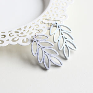 LEAF BRANCH | Silver Earrings