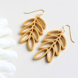 LEAF BRANCH | Gold Earrings