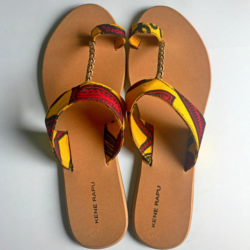 Female Leather Palm Slippers