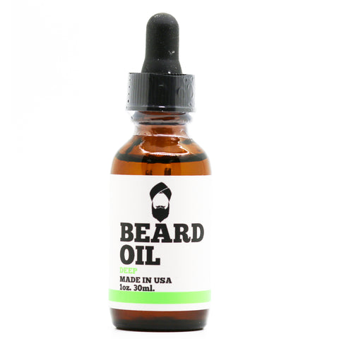 Deep Scented Beard Oil - No Scent (NutFree)