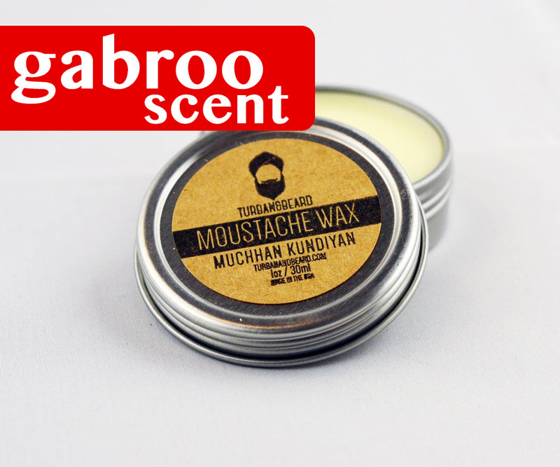 Gabroo Scented Mustache Wax Turban And Beard