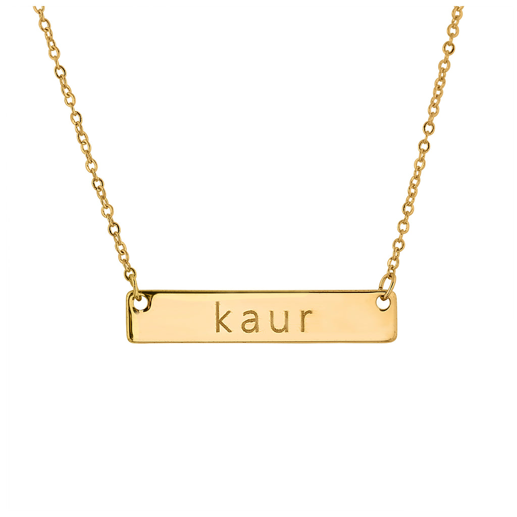 Kaur Necklace Gold