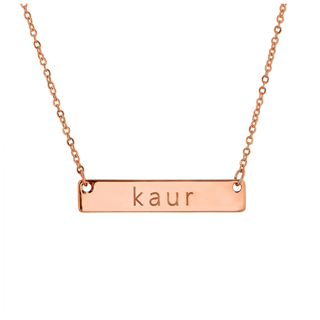 Kaur Necklace Rose Gold