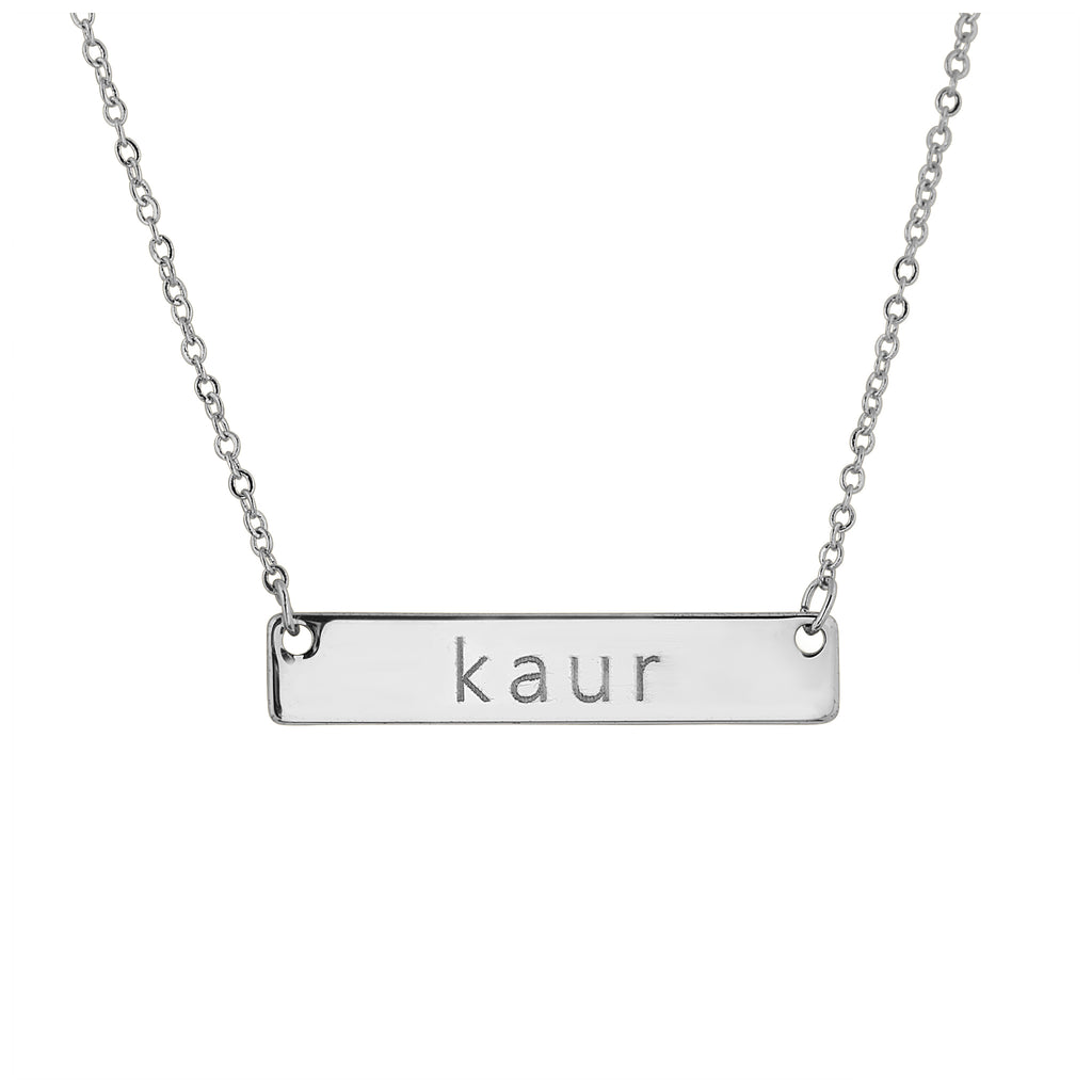 Kaur Necklace Silver