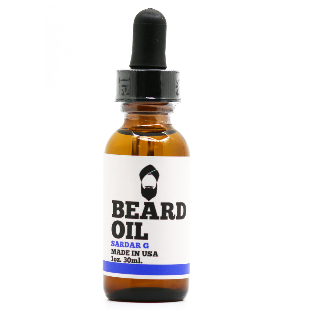 Sardar G Scented Beard Oil (No Scent)