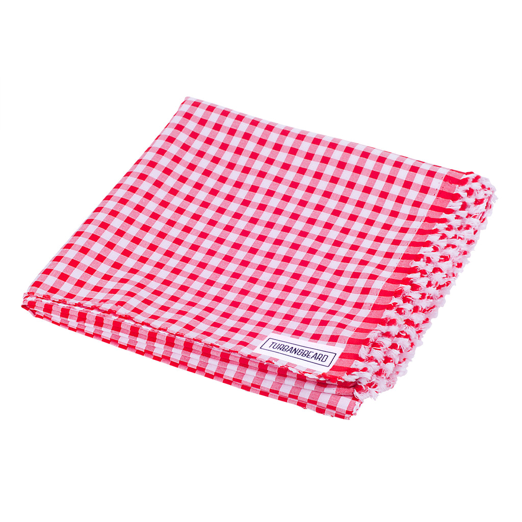Premium Parna - Gingham Red