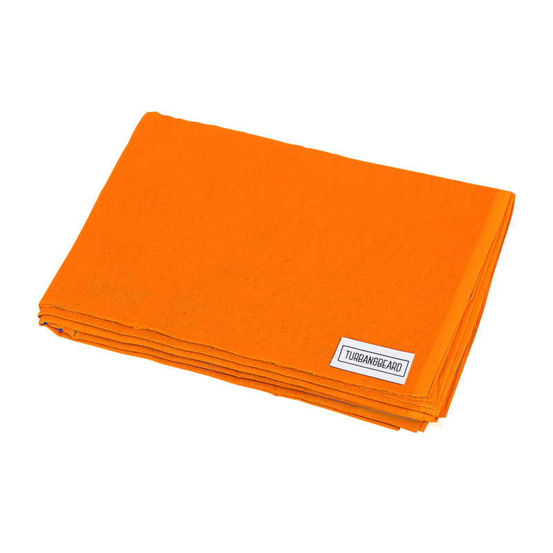 Orange Turban Cloth