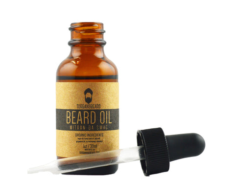 Mitran Da Swag Scent - Premium Beard Oil - Turban & Beard - 1
