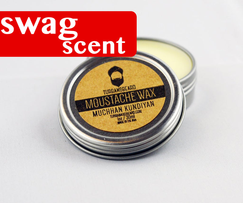 Mitran Da Swag Scent - Firm Hold - Premium Mustache Wax - Turban & Beard