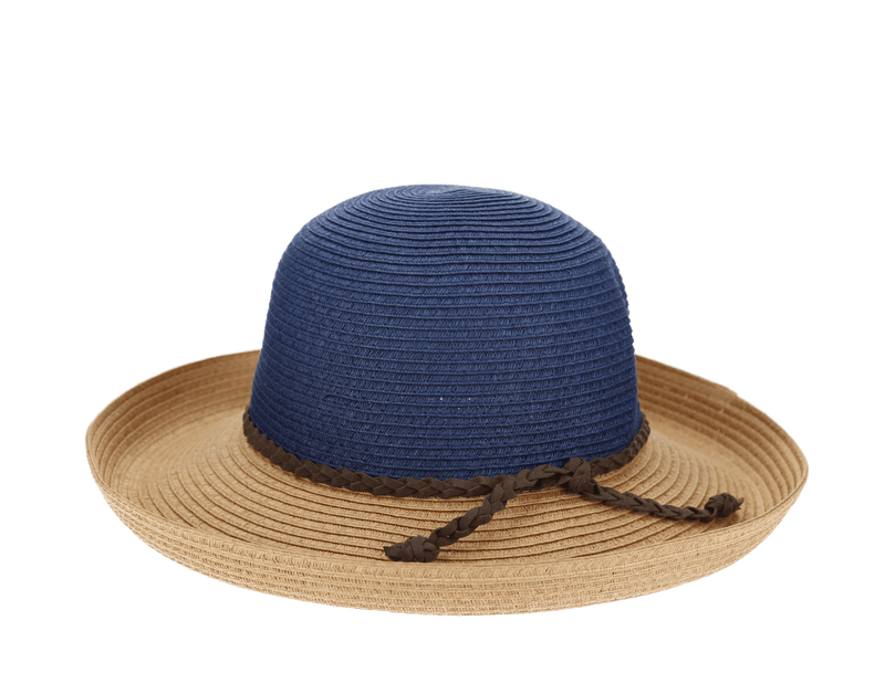 Wanderlust Coastal Turned Up Brim Hat