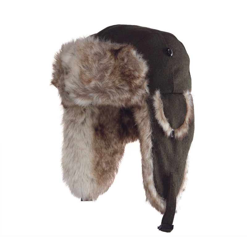 Dylan - Wool trapper hat