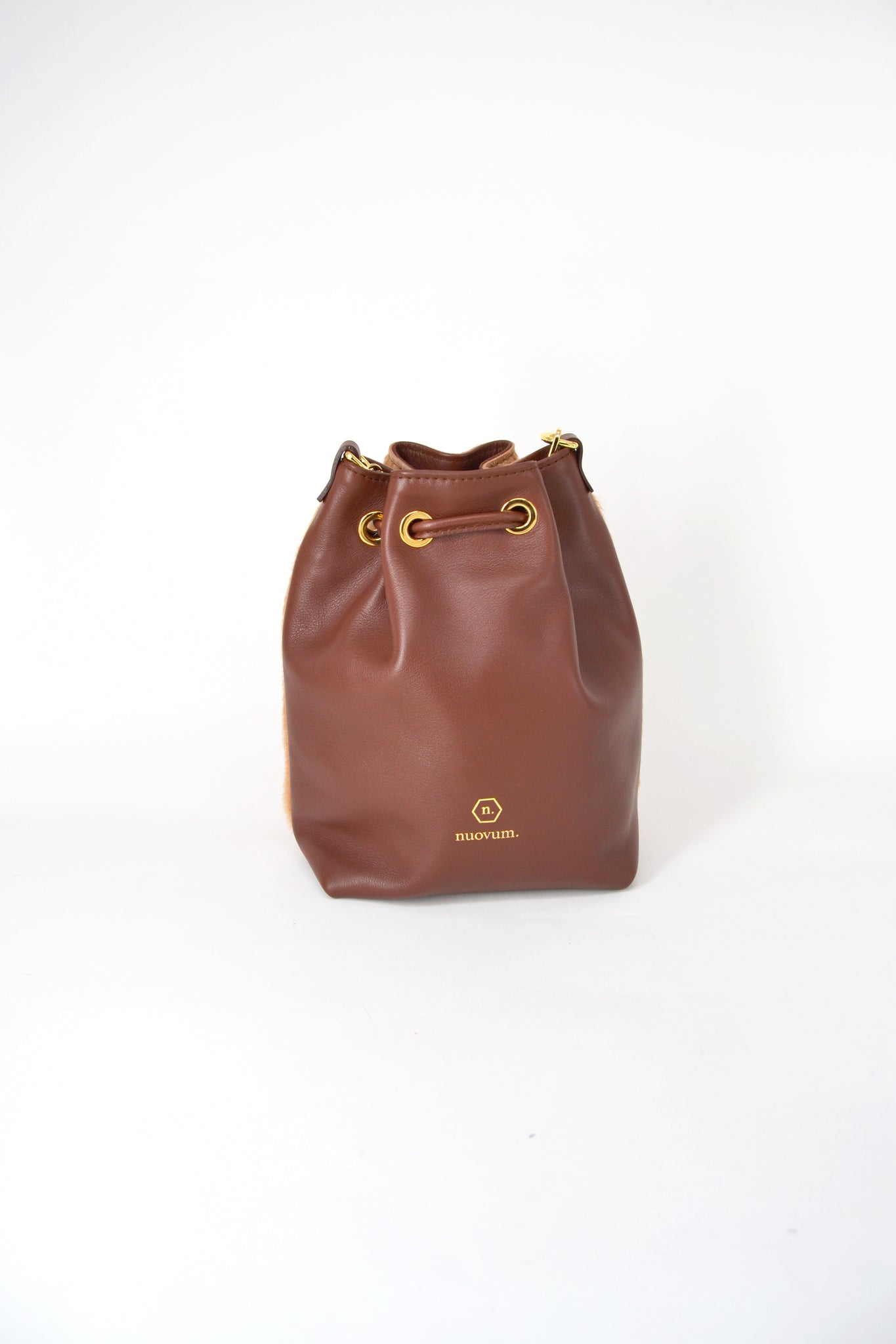 Nuo sac-brown-leather foal-handmade-Nuovum-localdesigners-barcelona