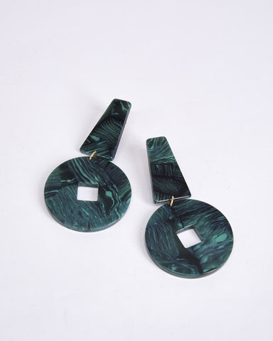 Earrings-ApresSki-Derviche-Green-marble-Nuovum-Localdesigners-Barcelona
