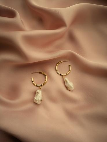 Earrings Catalina Natural Pearls