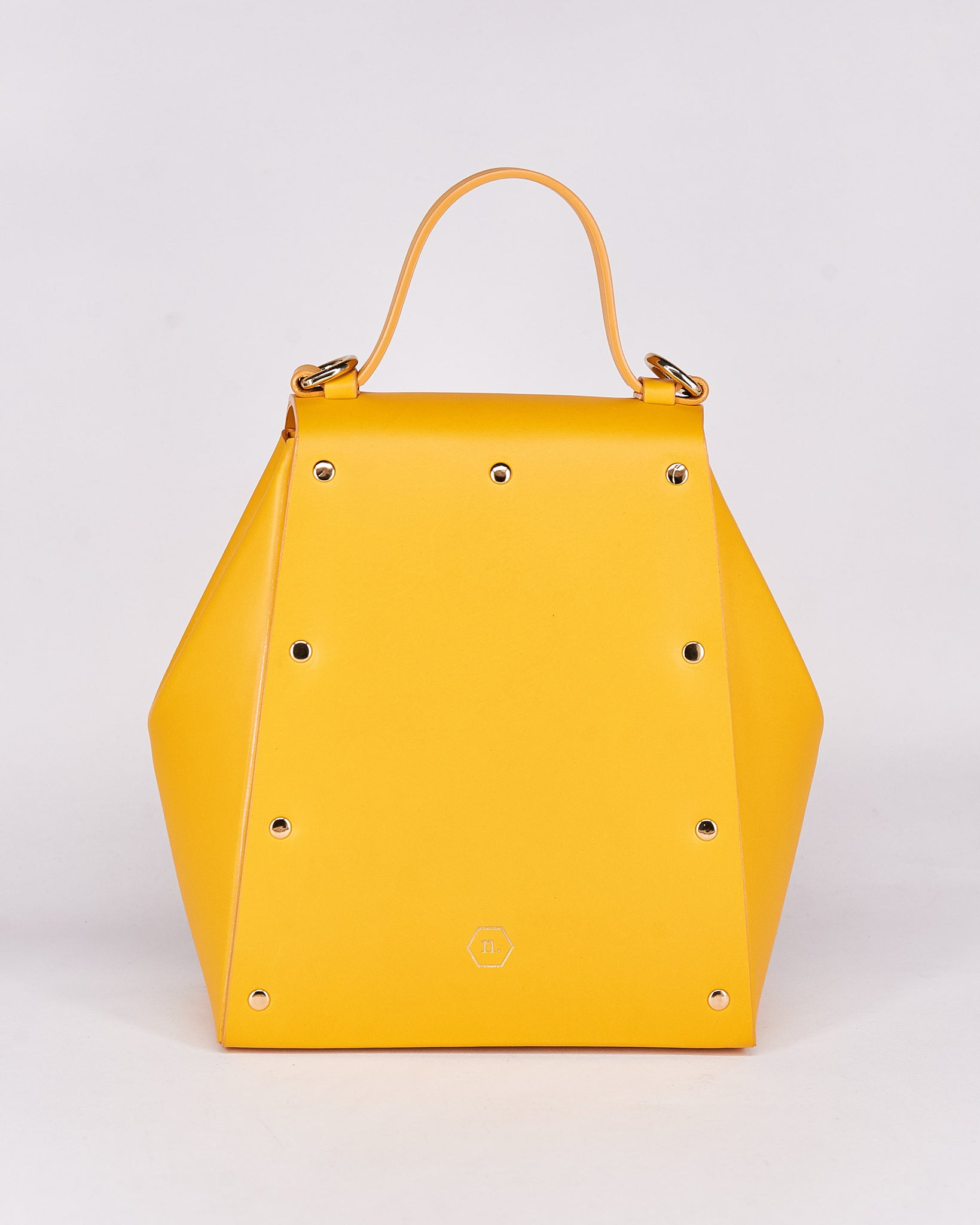 HexBag-Yellow-Leather-DesignedbyNuovum-Localdesigners-Barcelona-Back