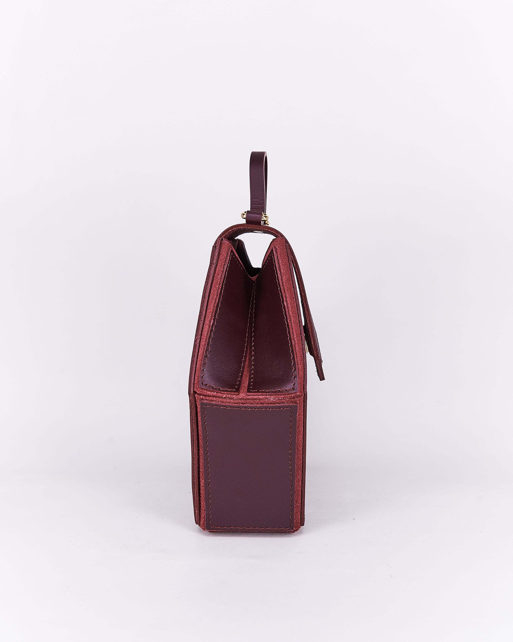 Nuo Hex Bag Burgundy