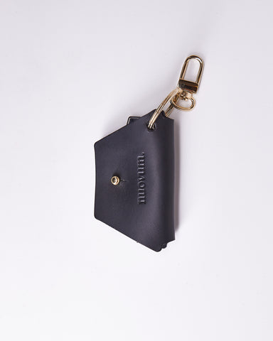 KeyWrap-Nuovum-Leather-Black-localdesigners-Barcelona-Nuovum-Handmade-Close