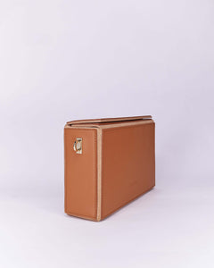 Nuo Box Bag Brown
