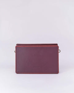 Nuo Box Bag Burgundy
