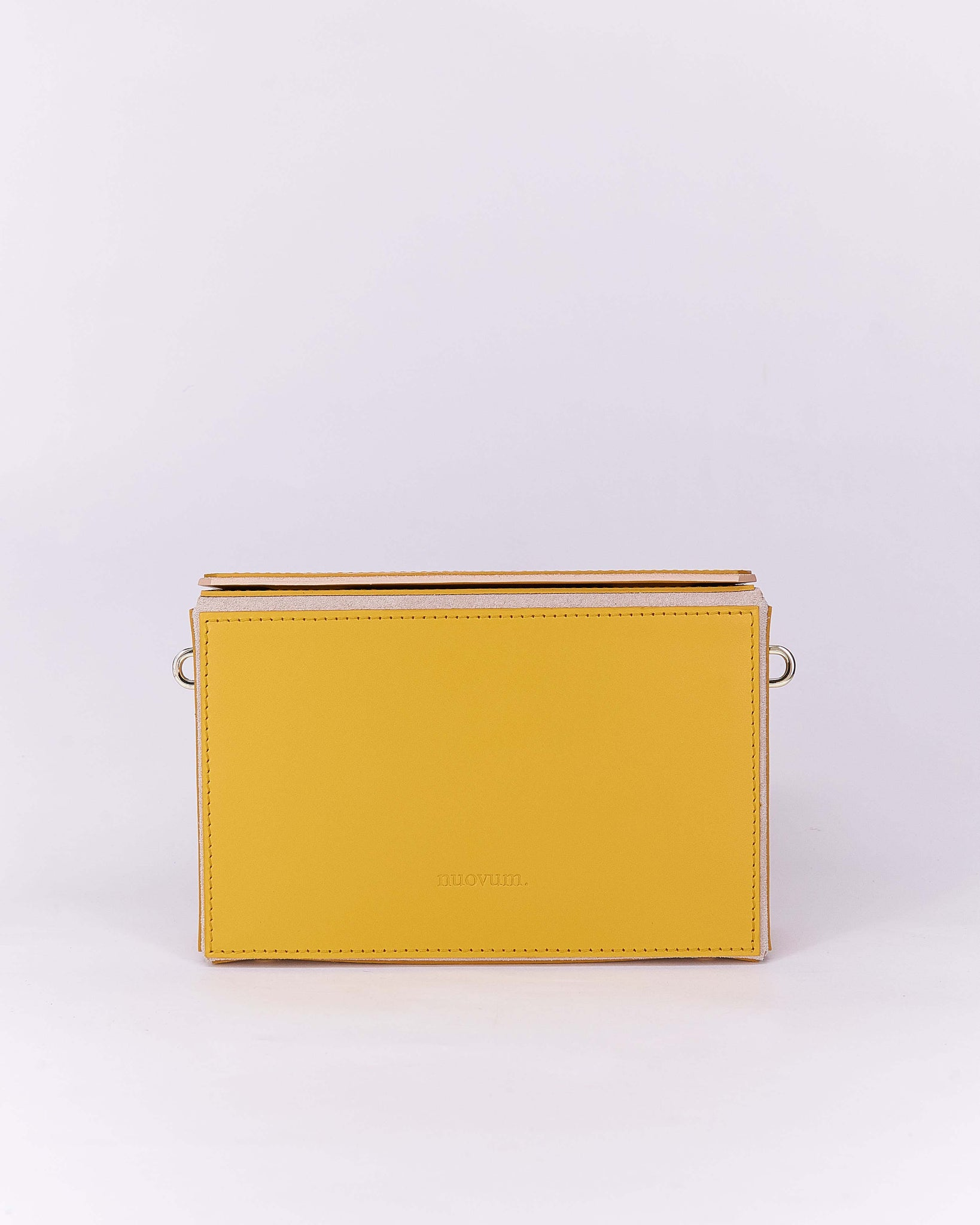 Nuo Box Bag Yellow