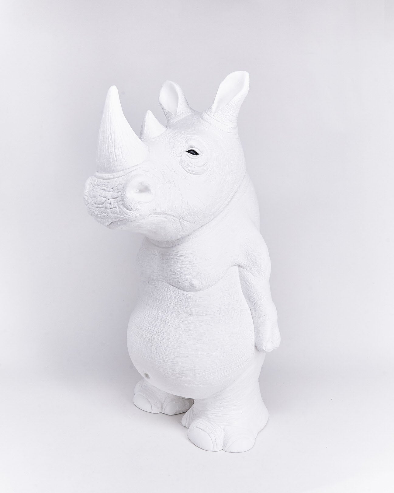 Rhino-ceramic-animal-object-left-handmade-Ornamante-localdesigner-Nuovum-barcelona