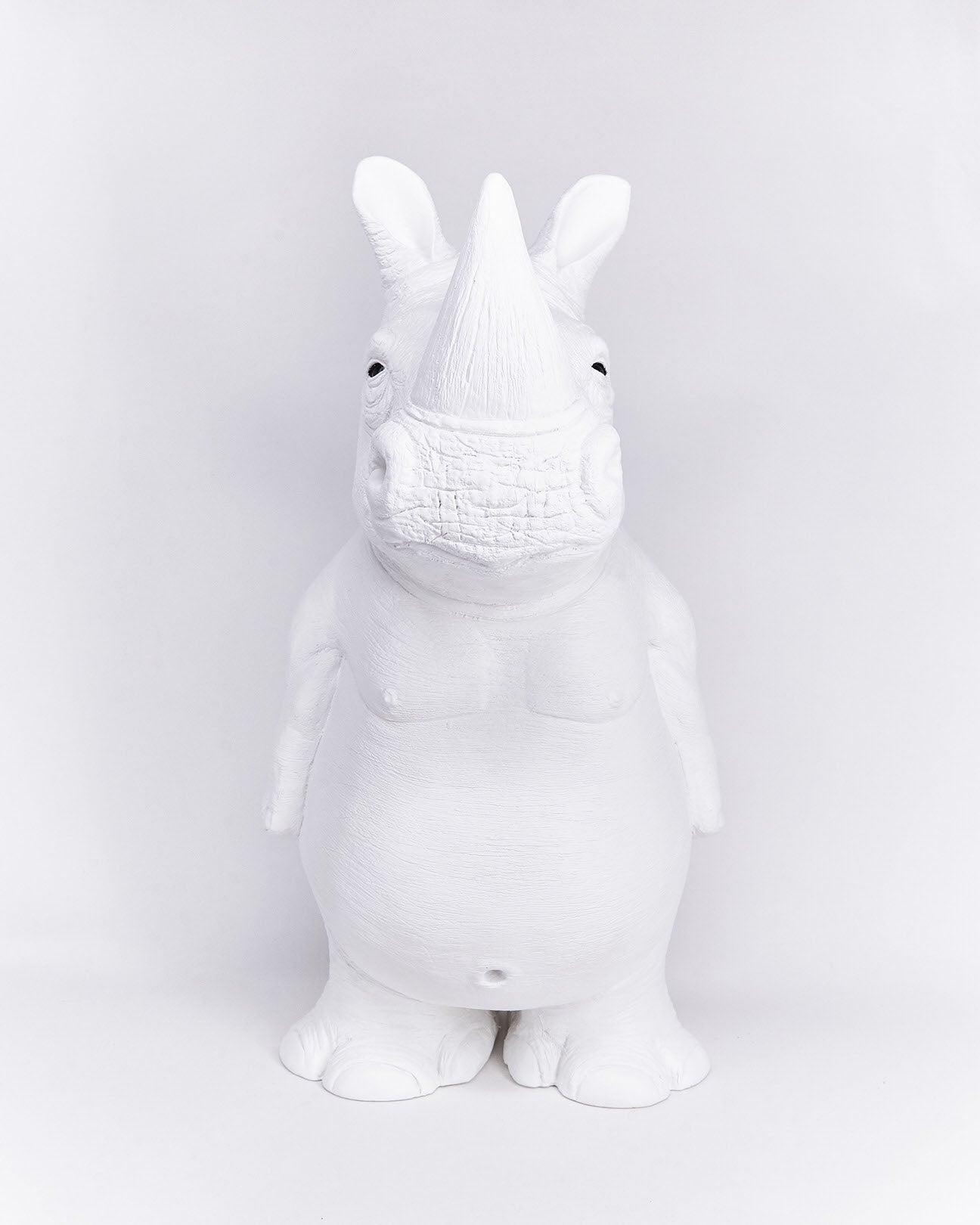 Rhino-ceramic-animal-object-handmade-Ornamante-localdesigner-Nuovum-barcelona
