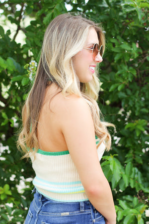 Lace Sleeve Romper: Black