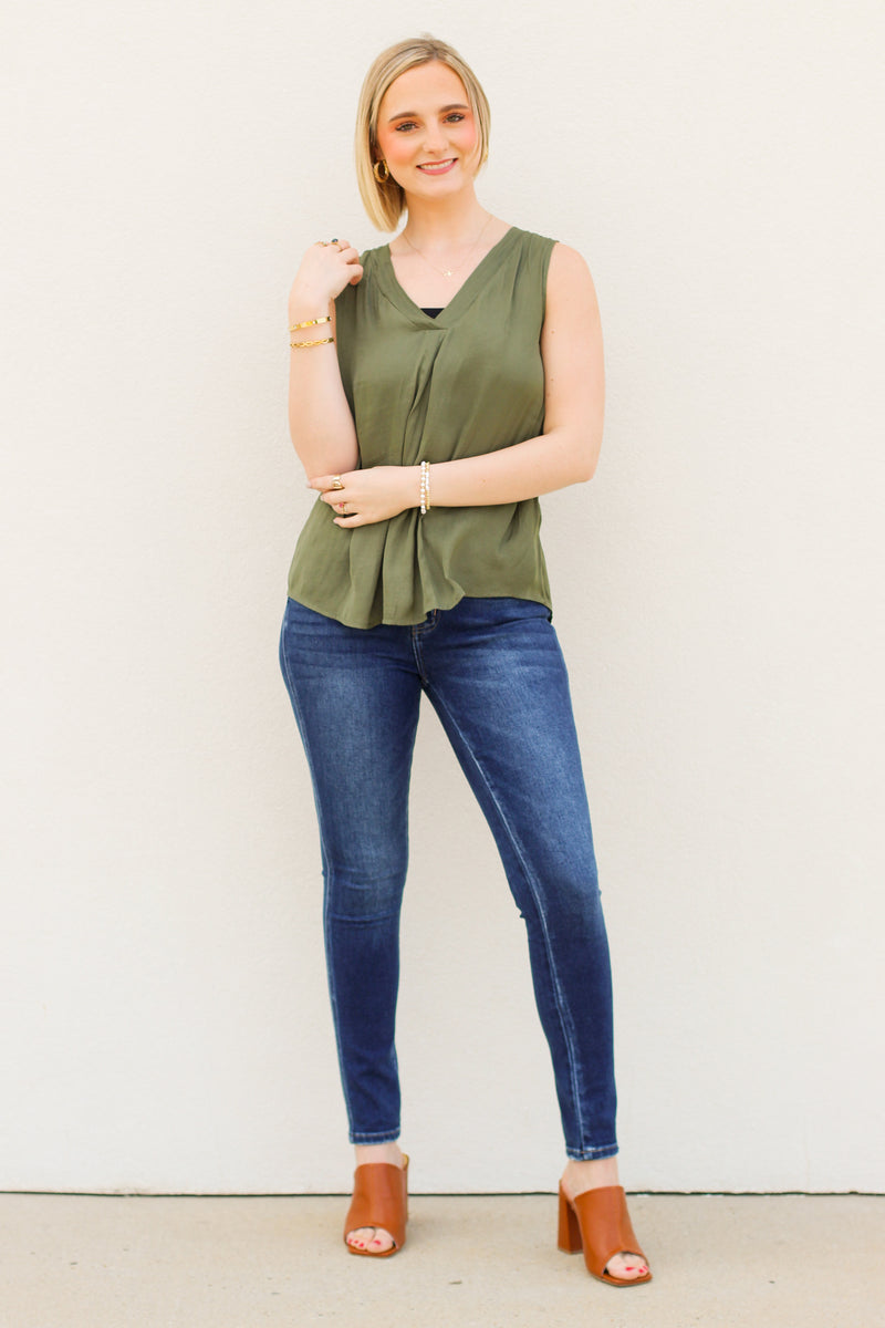 Spotted Dress: Black
