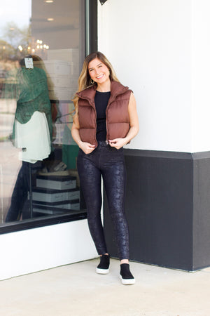 Front Tie Top: Hot Pink