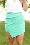 Babydoll Tee: Kelly Green