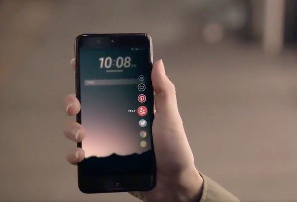 HTC Launching a Squeezable Smartphone