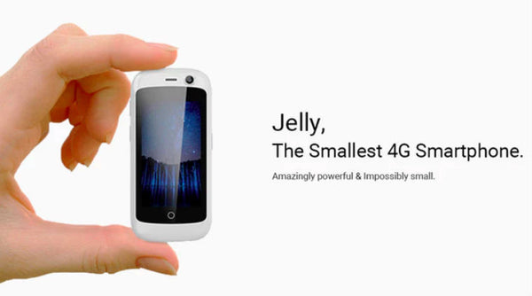 Jelly - The World's Smallest 4G Android Smartphone